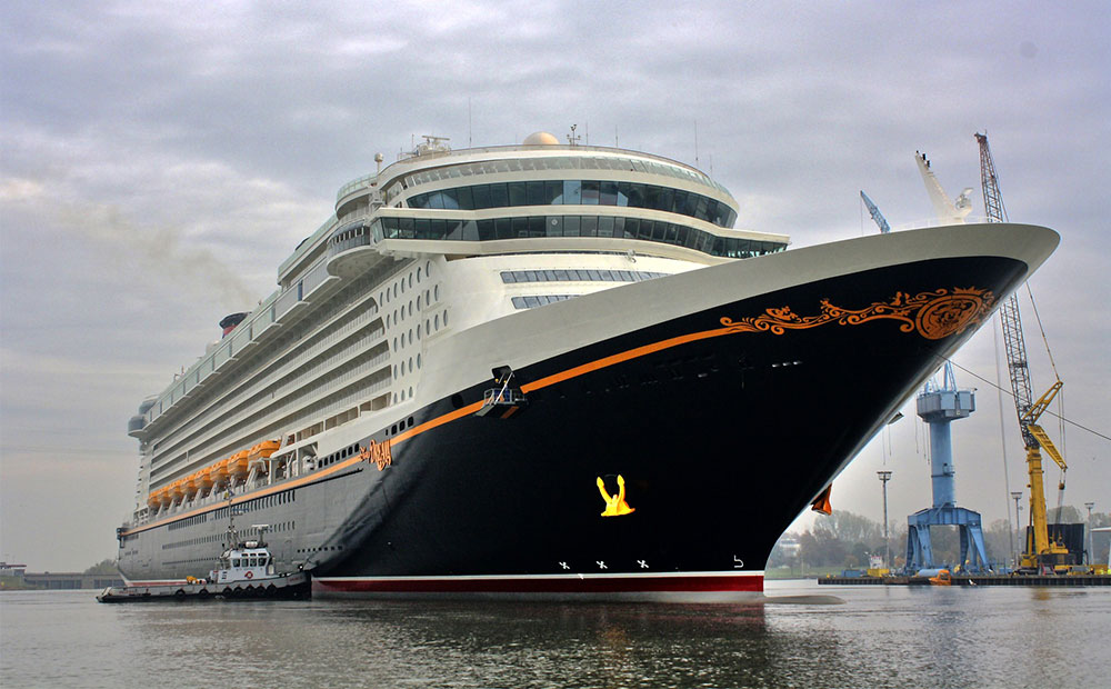 Fartyget Disney Cruiseline
