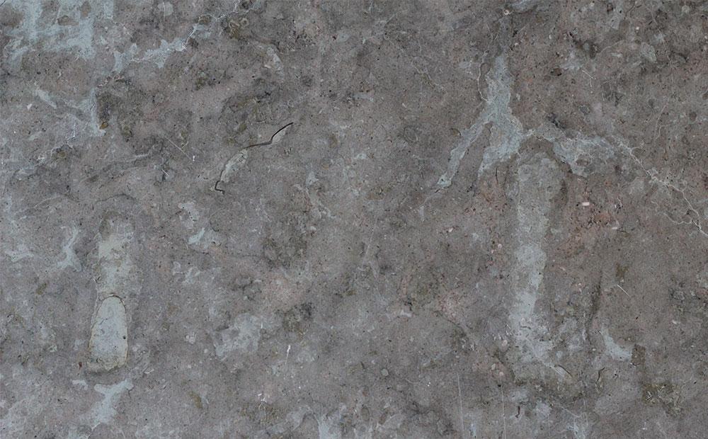 Gråbrun svensk kalksten