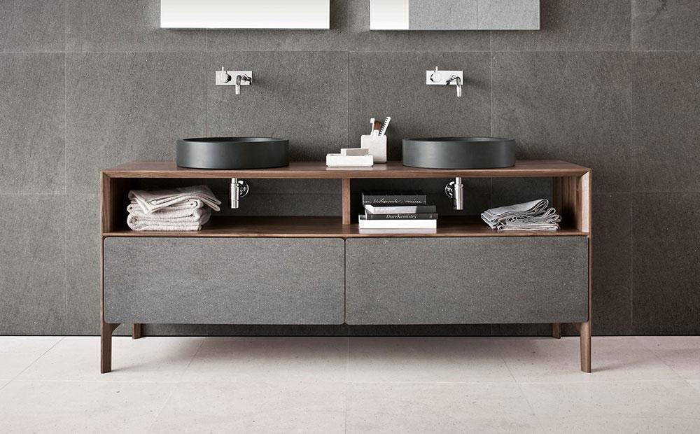 Badrumsmöbel med lavasten av Neutra-Design