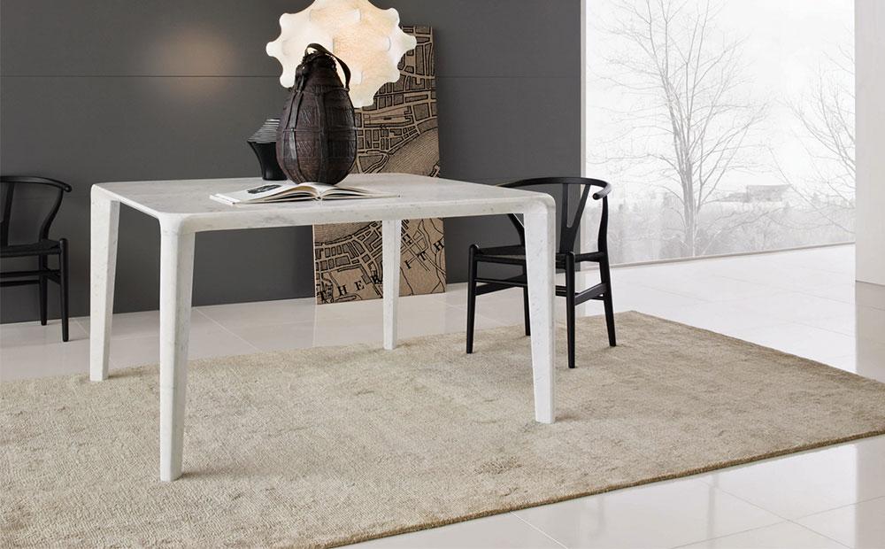 Marmorbord Bianco Carrara marmor från Neutra-Design